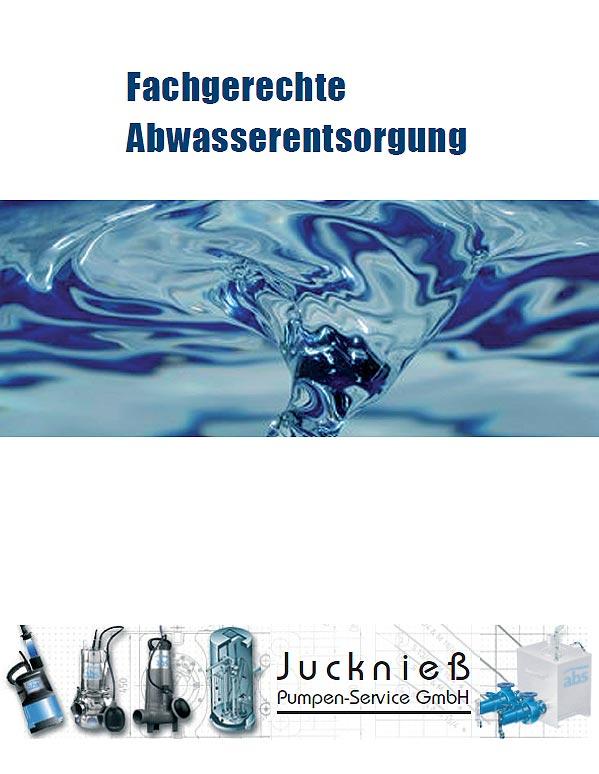 Broschüre der Firma Jucknieß-Pumpen
