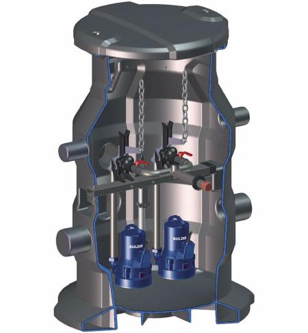 Druckentwässerung